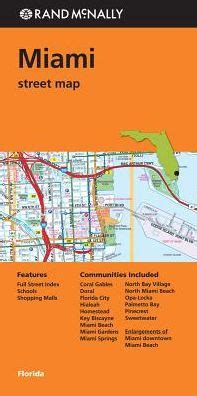 barnes and noble miami miami florida map by rand mcnally other format barnes