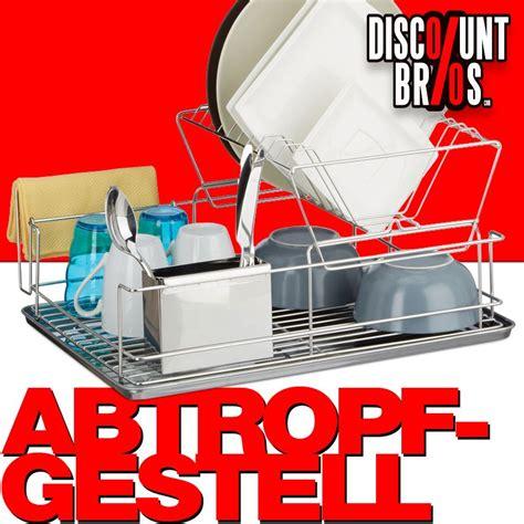 Geschirr Abtropfgestell Design by Geschirr Abtropfgitter Abtropfgestell Mit Besteckhalter 48