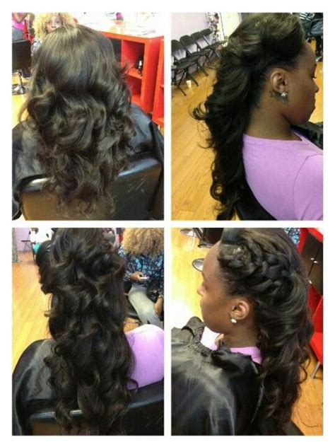 Pull Up Sew In Hairstyles by Pull Up Sew In Hair Prom Hair Hair Hair Styles