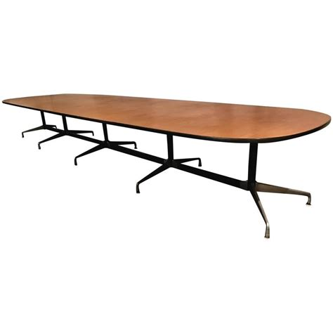 herman miller conference table classic charles and eames aluminium group conference table