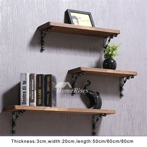Wall Shelves And Ledges by Contemporary Wall Shelves Wooden Ledges Decorative Rustic
