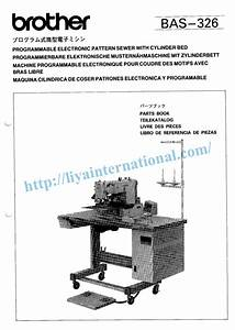 Brother Bas 326 Programmable Sewing Machine Book Spare