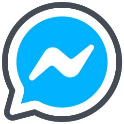 Facebook Messenger Icon - Free Download, PNG and Vector