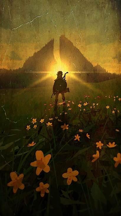 Zelda Legend Phone Breath Wild Lila Heroscreen