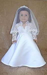 76 best american girl doll wedding long sleeves images on With american girl doll wedding dress