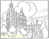 Coloring Temple Synagogue Pages Lake Salt Getdrawings Getcolorings sketch template