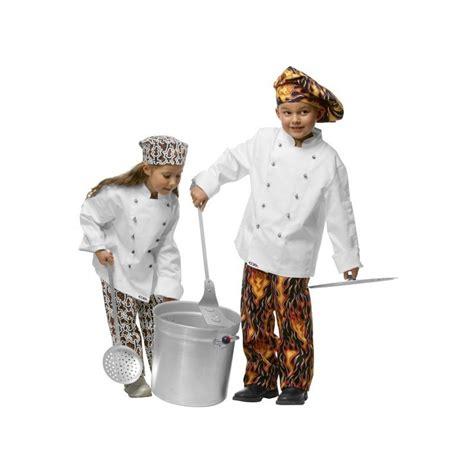 tenue cuisine tenue de cuisine enfant veste toque parfait pour offrir