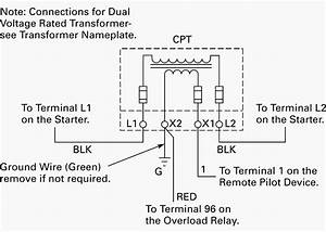 Ge Control Transformer Wiring Diagram