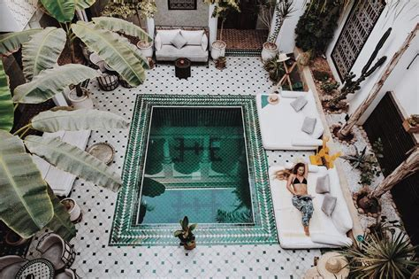 Your Next Holiday Riad Yasmine Marrakech Bramble And Thorn
