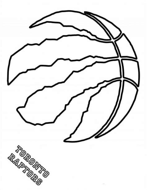 Free Coloring Pages Nba Basketball, Download Free Clip Art, Free ... | 613x474