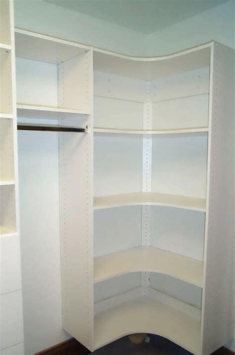walk in closet corner shelves search walk in