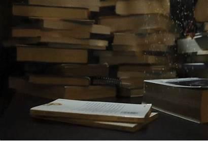 Loop Books Rain Read Crego Giphy Gifs