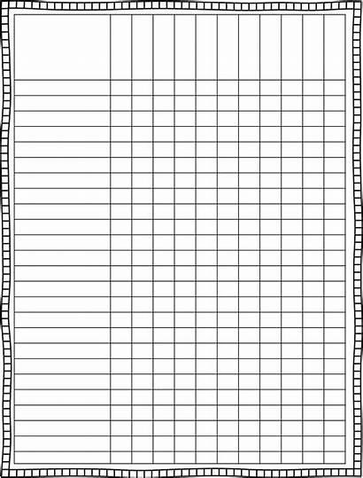 Template Class Blank Printable Sheet Grade Spreadsheet