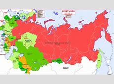 Hisatlas Map of Soviet Union 19171918