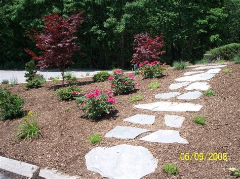 walkways and paths natural garden walkway ideas photograph colonial garden pa