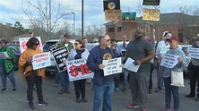 Local NAACP chapters rally outside Congressman Walter B ...