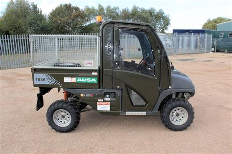 electric 4x4 vehicle 4x4 farm utility vehicle ausa m50d central england