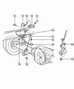 2001 Dodge Ram 2500 Rear Height Sensing System