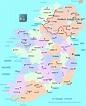 Ireland Political Map • Mapsof.net
