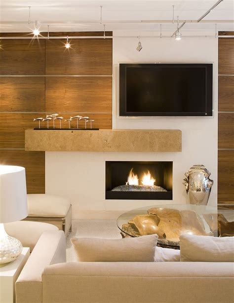 living room with tv and fireplace wall mount electric fireplace living room contemporary Modern