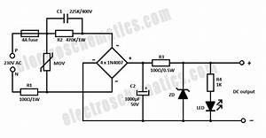 Capacitor Power Supply Circuit
