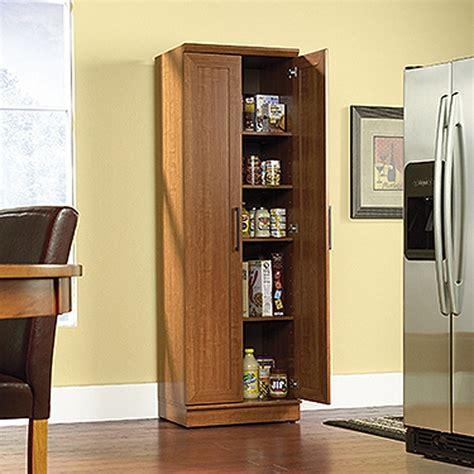 homeplus storage cabinet sienna oak   sauder