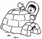 Igloo Iglu Coloring Eskimo Colorir Desenho Kolorowanka Lesson Esquimo Drawing Kid Coloriage Sheets Menina Bulkcolor Ohbq Tudodesenhos Types Houses sketch template