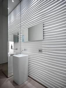 le panneau mural 3d un luxe facile a avoir archzinefr With panneaux muraux pour salle de bain