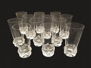 Service De Verre En Cristal : service de 12 verres en cristal daum galerie yvan royer ~ Teatrodelosmanantiales.com Idées de Décoration