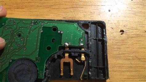 Renault Scenic, Laguna, Megane Electronic Key Card Repair