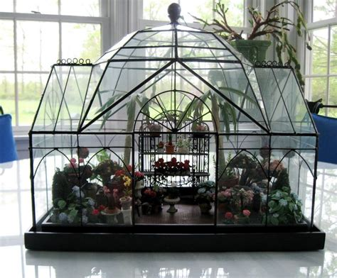 mini conservatory by smith and hawken terrarium miniature