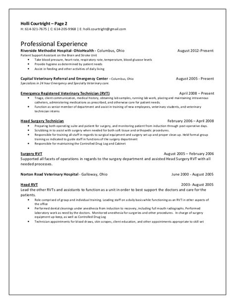 resume labor and delivery