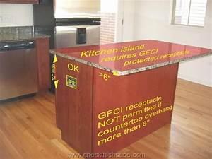 Kitchen Island Receptacle