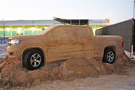 Sands Chevrolet Parts by Chevy Colorado Comes To In The Sand Of San