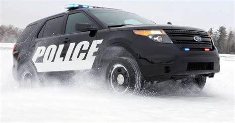 Suv Becomes Usa's Top Police Car