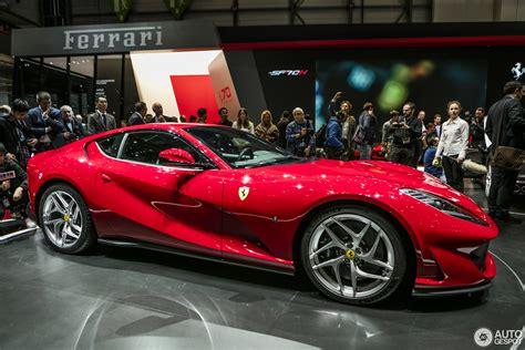 Geneva 2017 Ferrari 812 Superfast