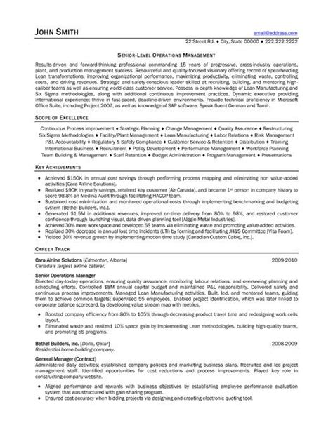 Exle Resume For Consultant by 8 Best Images About Best Consultant Resume Templates
