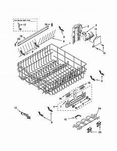 Kenmore 66516463300 Dishwasher Parts