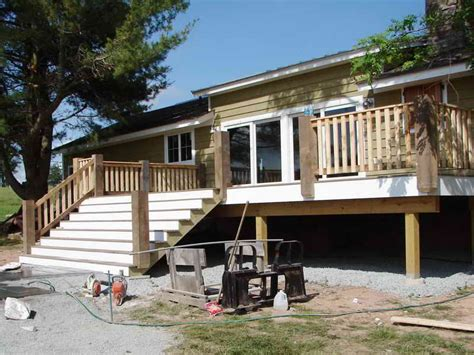 premade steps for porch premade deck footers doherty house premade deck porch