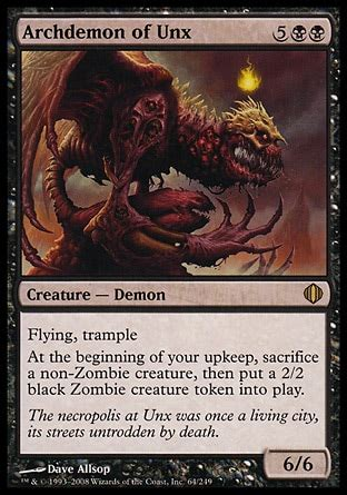 aye commander shadowborn apostle demon deck