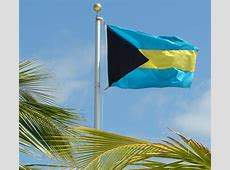 Flag Of The Bahamas The Symbol Of Islands And Seashores
