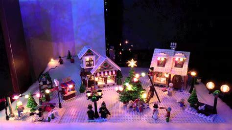 season s greetings from lego christmas village youtube