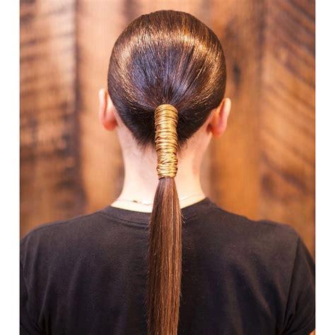 ponytail hairstyles instagram glamour bound styles braid ways easy redken french
