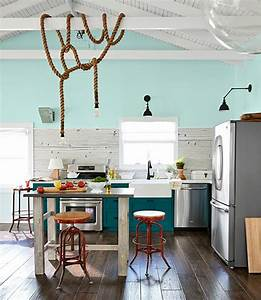 peacock blue cabinets country kitchen benjamin moore With what kind of paint to use on kitchen cabinets for beach decor wall art
