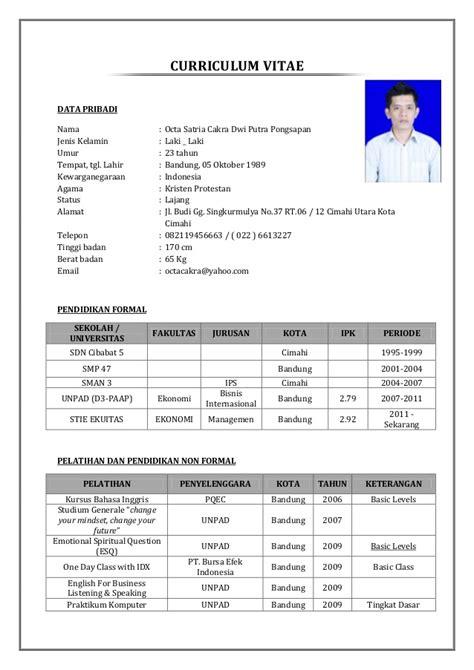contoh resume kerja resume ideas