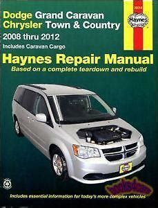 dodge caravan manual ebay
