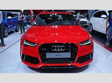 2015 Audi RS6 Is a Refreshed Super Wagon in Paris [Live