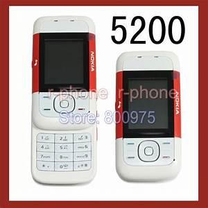 Original Nokia 5200 Mobile Phone Gsm Tri Band Unlocked