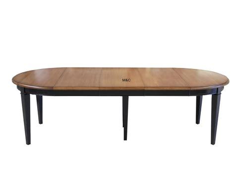 table de cuisine avec rallonge table ronde directoire bois massif avec rallonges