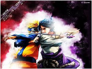 Naruto Vs Sasuke Wallpaper by demoncloud on DeviantArt